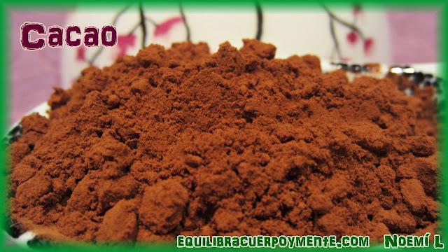 Cacao. Beneficios del cacao.