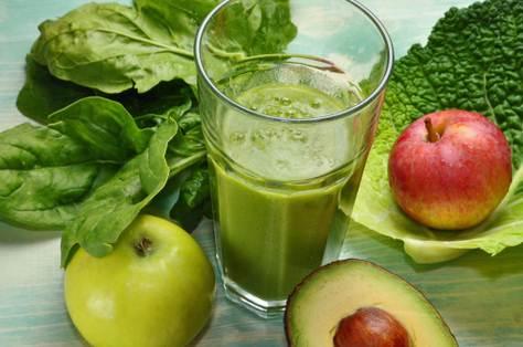 Minuman jus untuk diet