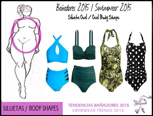 Swimwear Oval Body Shape
