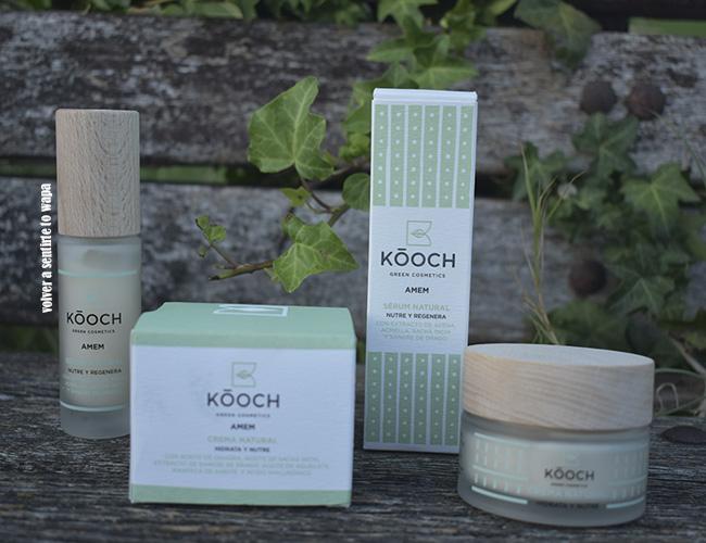 Kóoch Green Cosmetics: crema nutritiva y sérum regenerante
