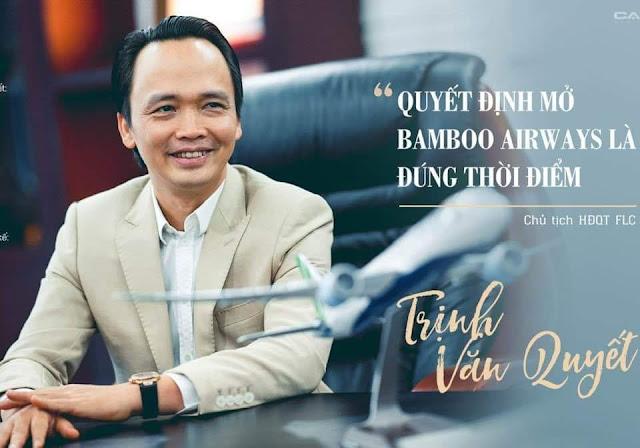 Thương ông Trịnh Văn Quyết và Bamboo Airway, Hainan Airlines sẽ bơm tiền vào cứu?