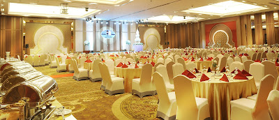 Source: Al Meroz Hotel website. The Grand Meroz Banquet Hall.