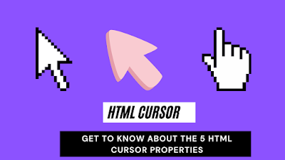 html cursor   Get to Know About the 5 HTML Cursor Properties