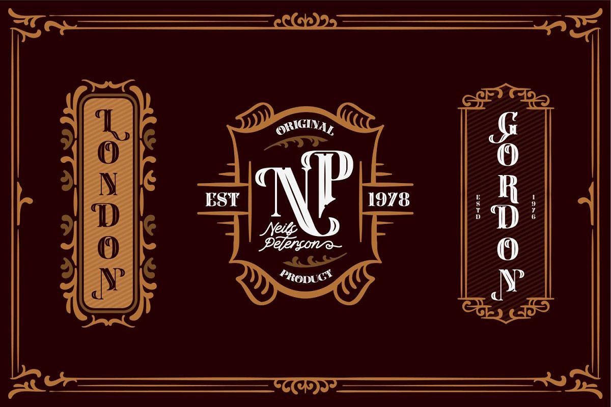 Carlingthon Vintage Font Pack 520081
