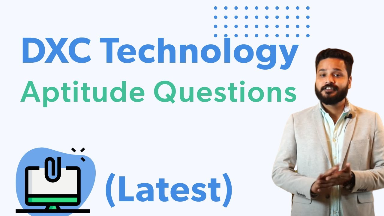 DXC Placement Aptitude Questions and Answers PDF Download