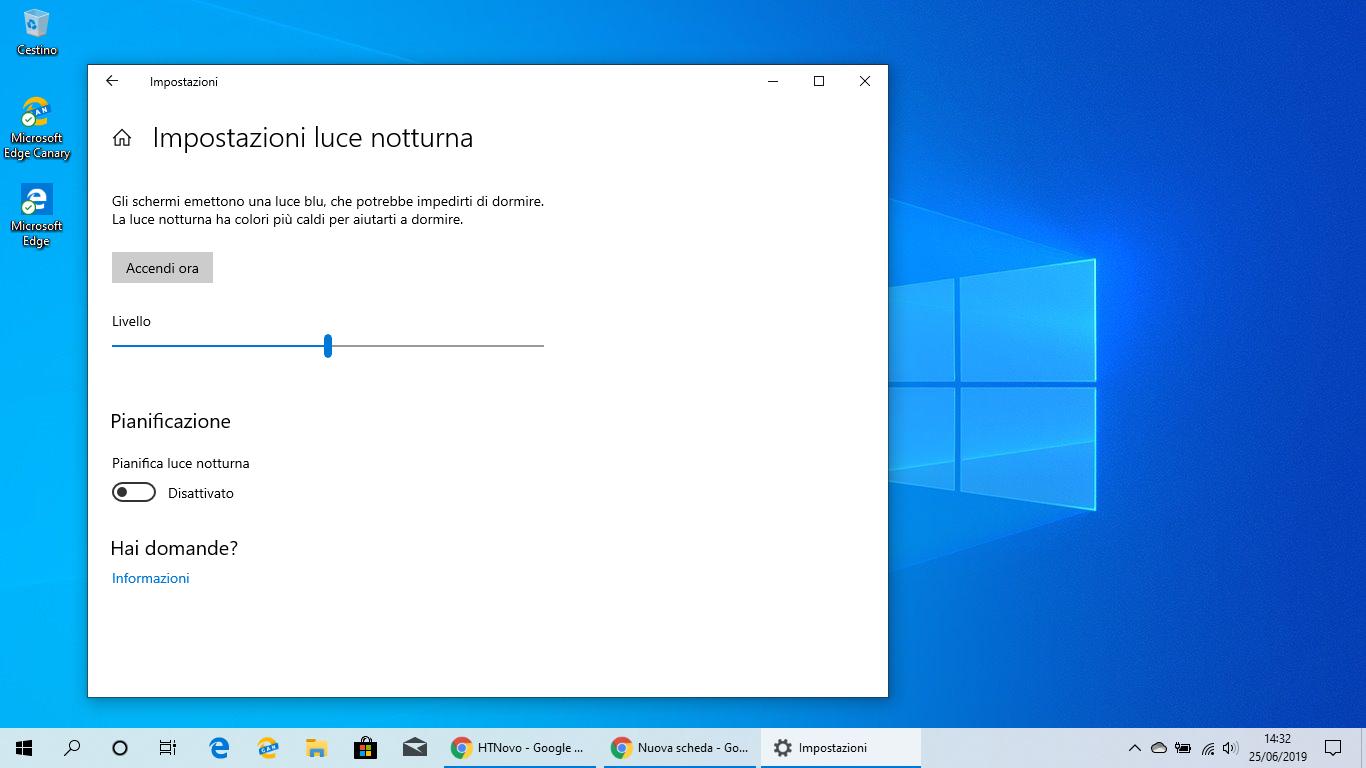 Risolti-problemi-Luce-notturna-Windows-10-versione-1903