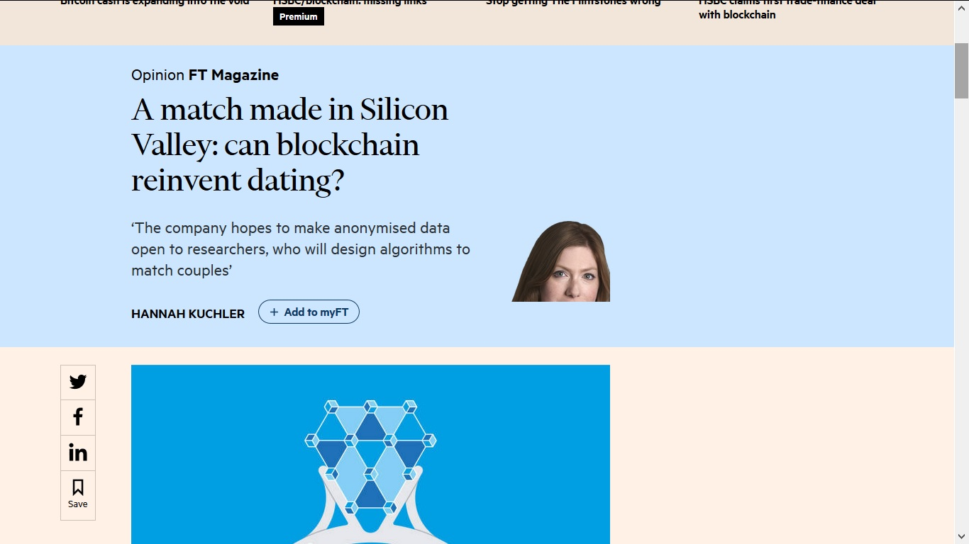 online dating opinion article