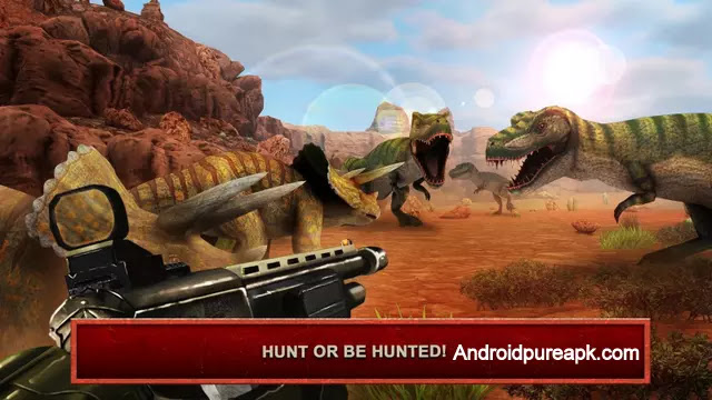 Deadly Dino Hunter: Shooting Apk