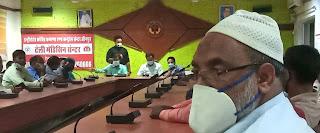 टीकाकरण कार्यक्रम के तहत मदरसा शिक्षकों की हुई बैठक    #NayaSaberaNetwork
