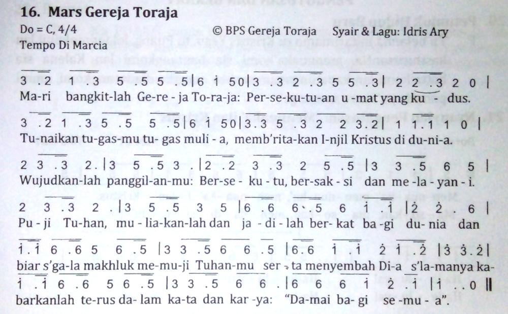 Not Gereja Toraja