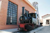 Locomotora la Hulla - Tren Minero - Utrillas.