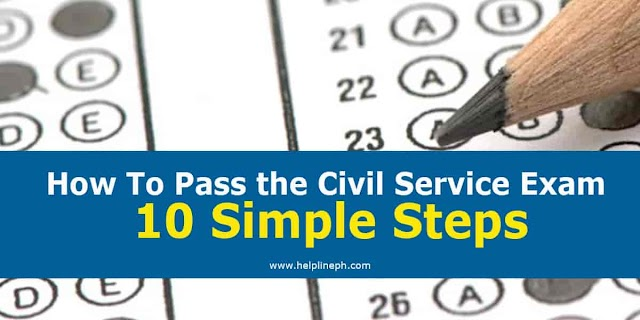 How To Pass the Civil Service Exam: 10 Simple Steps