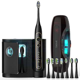 Sonic Electric Toothbrush with UV Sanitizer