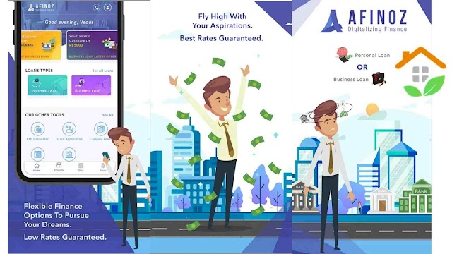 Afinoz personal loan app - Interest rates, Eligibility, documents required