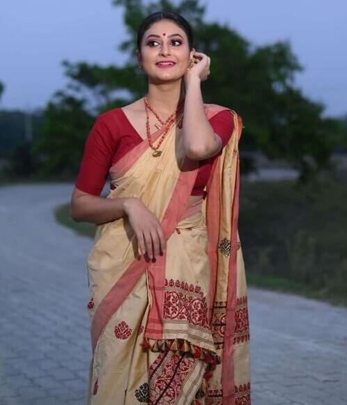 Bihu Dress Assamese Girl | Assam Girl Traditional Dress