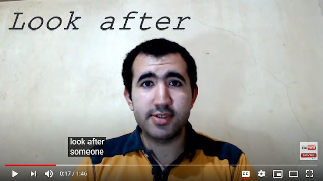 5 most common English phrasal verbs with Look by Mr.Zaki