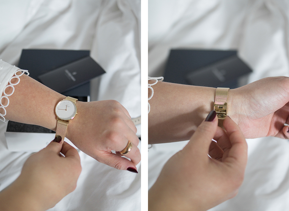 classic-style-gold-mesh-minimalist-watch-Barely-There-Beauty-blog