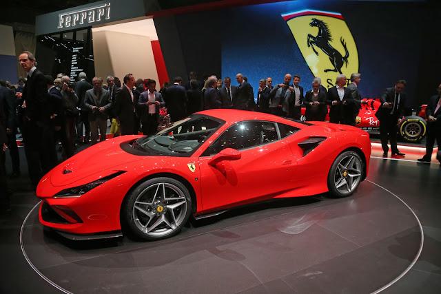 Ferrari F8 Tributo at Geneva Motor Show