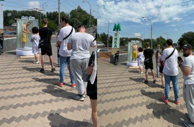 У Києві вигадали оригінальний спосіб боротьби зі спекою: освіжає та бадьорить