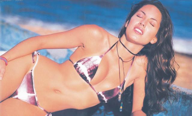 Barbara Mori Revista H Octubre 2001-2