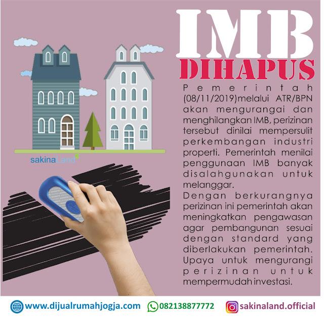IMB Dihapus