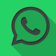 whatsapp square icon