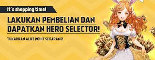 Alice's Gift : Hero Selector