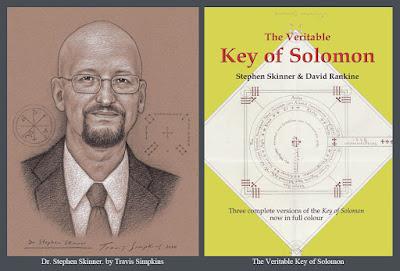 Stephen Skinner. Author. The Veritable Key of Solomon. Ceremonial Magick. by Travis Simpkins