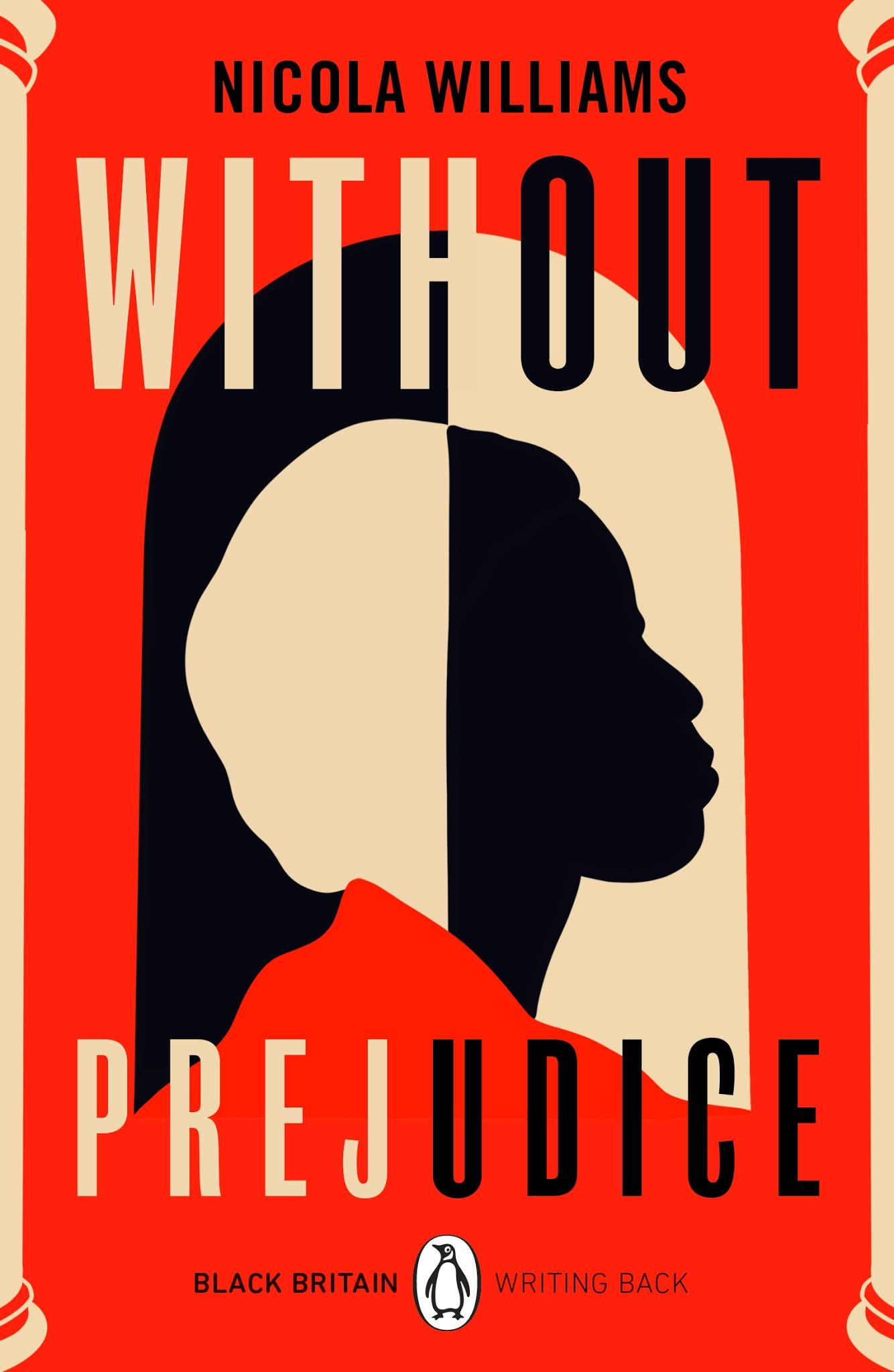 Book cover for Without Prejudice by Nicola Williams Without Prejudice in the South Manchester, Chorlton, Cheadle, Fallowfield, Burnage, Levenshulme, Heaton Moor, Heaton Mersey, Heaton Norris, Heaton Chapel, Northenden, and Didsbury book group