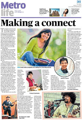 Making a connect - an article in Deccan Herald