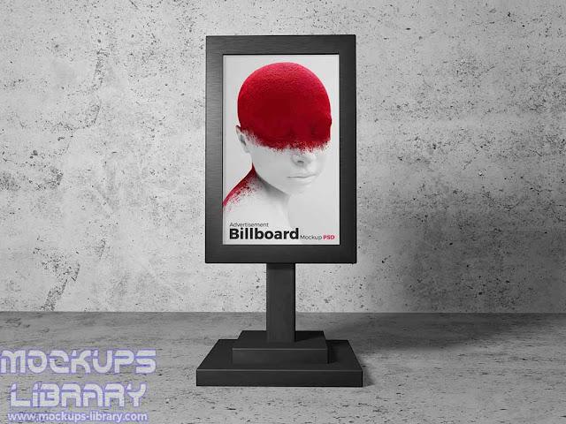 billboard stand mockup