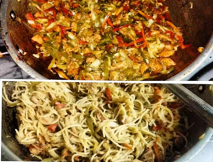 Chicken Chowmein Recipe