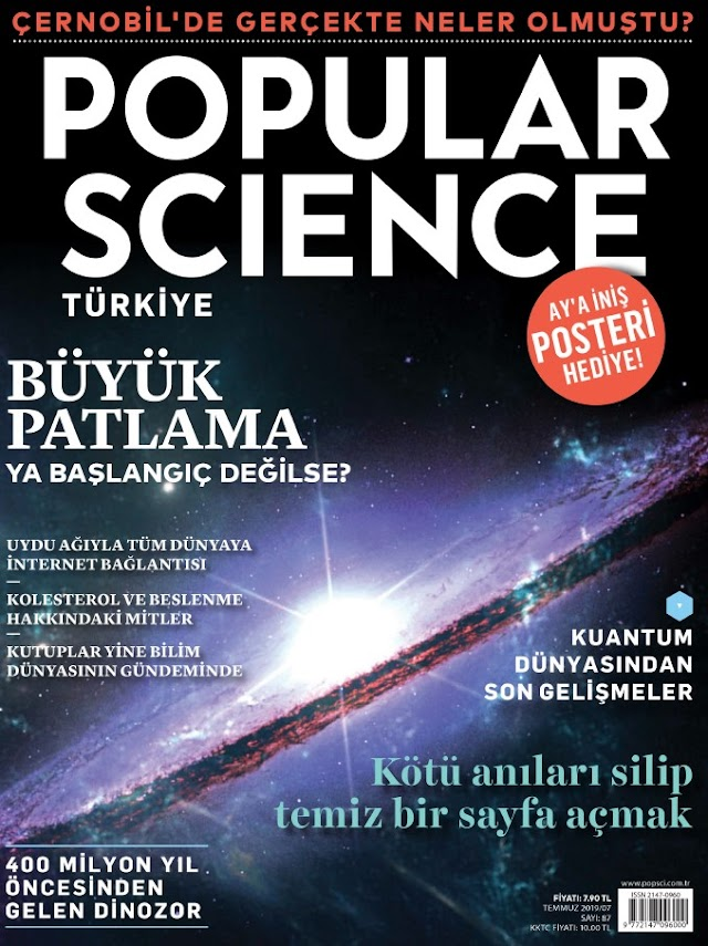 Popular Science Temmuz 2019 Dergi PDF indir