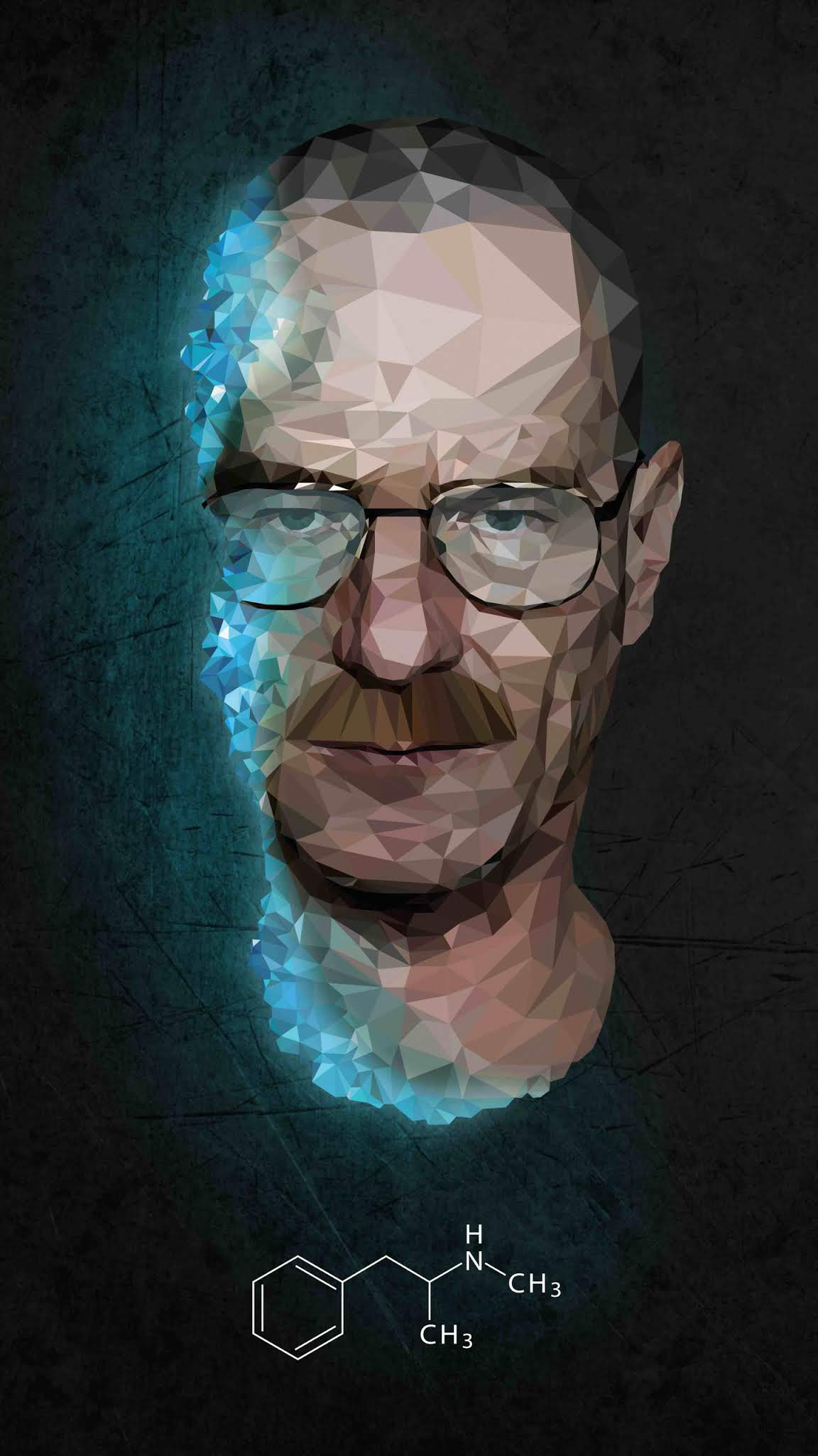 Fan Made Walter white Mobile Wallpaper