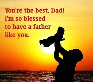 happy fathers day image with quotes