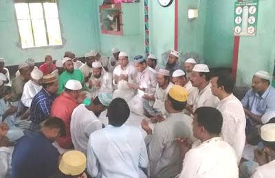 ফরিদগঞ্জে খালেদা জিয়ার রোগ মুক্তি কামনায় মিলাদ মাহফিল