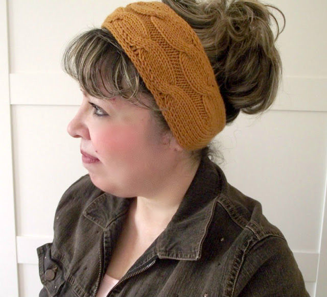 Liliacraftparty Soulmates Headband Knitting Pattern