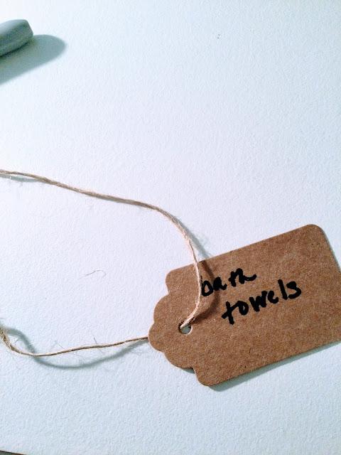 Label for bath