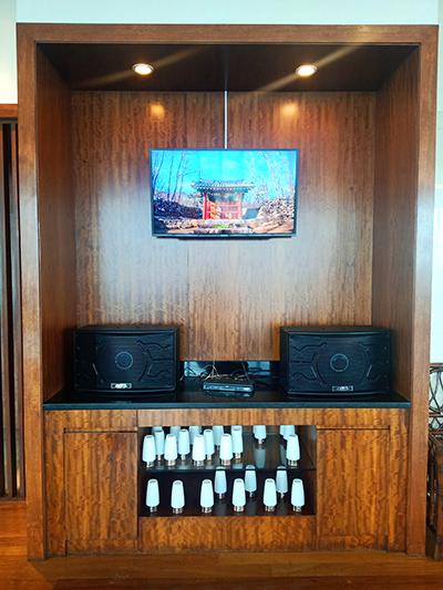 entertainment systems around