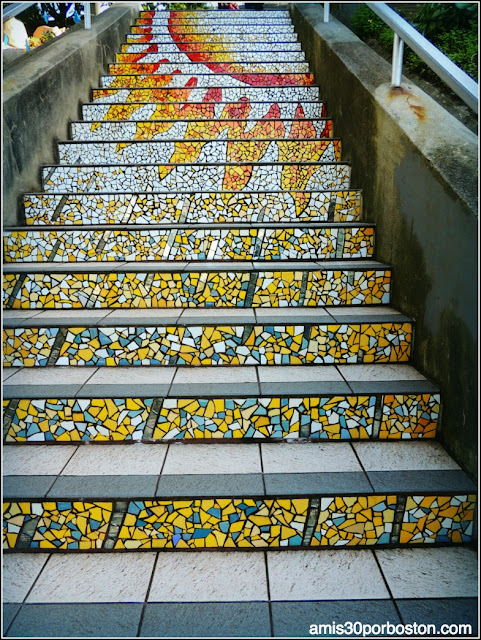 16th Avenue Tiled Steps