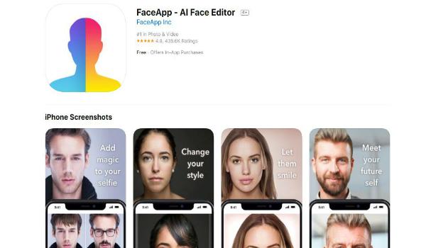 تطبيق FaceApp الروسي يرد على الاتهامات الخطيرة الموجهة له