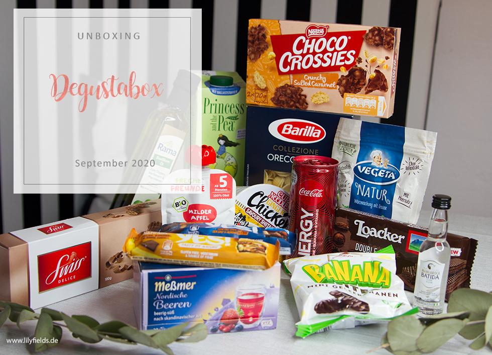 Degusta Box - September 2020 - unboxing