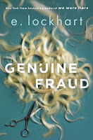 Genuine Fraud by e. lockhart, book cover and review