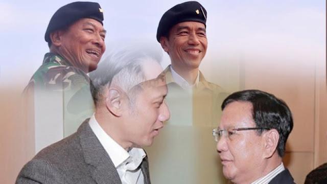 Prediksi Pengamat: Pilpres 2019 Jokowi-Moeldoko Vs Prabowo-AHY