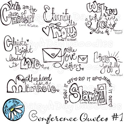 Daisy a Day Doodles: Women's Conference