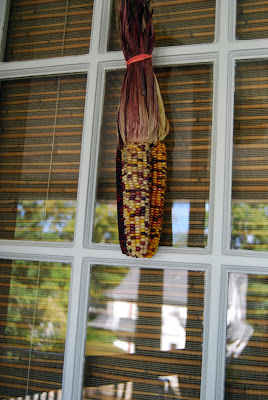 fall decor for the front door | front porch decorating ideas for fall and autumn http://schulmanart.blogspot.com/2013/09/fall-decorating-ideas-for-outside.html