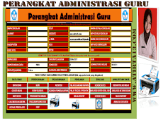 Aplikasi Administrasi Guru Kelas SD SMP SMA Kurikulum 2013 Excel Revisi 2018