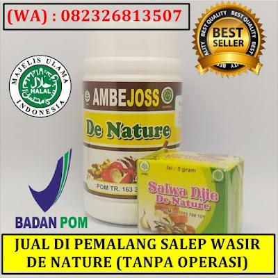 JUAL DI PEMALANG SALEP WASIR DE NATURE (TANPA OPERASI)