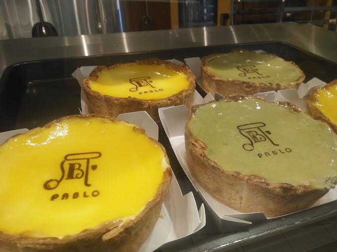 Pablo Matcha Cheesecakes dan Cheese Tart