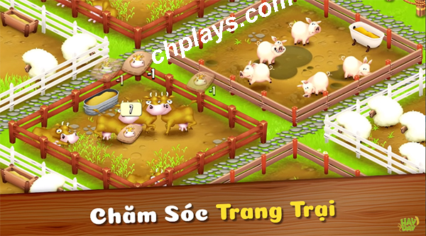 Tải game Hay Day - Game nông trại hay cho Android, IOS, PC, LapTop c